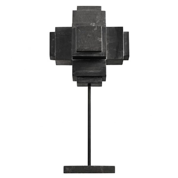 pulp-home-black-marble-cube-on-stand-001