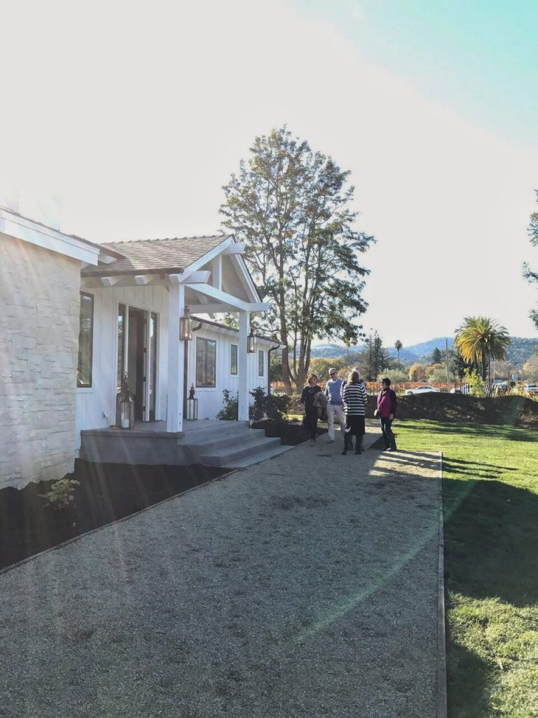 Napa Valley vineyard house