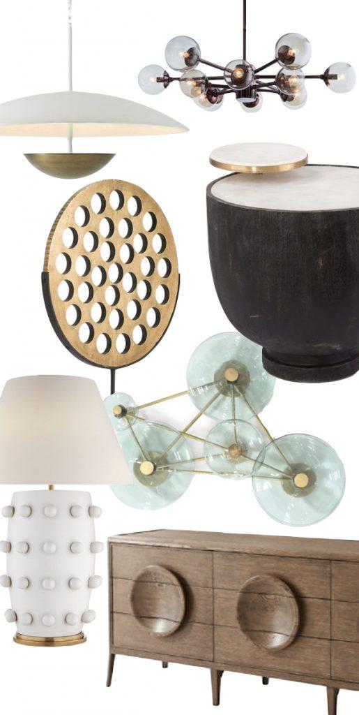 circle inspired furnishings