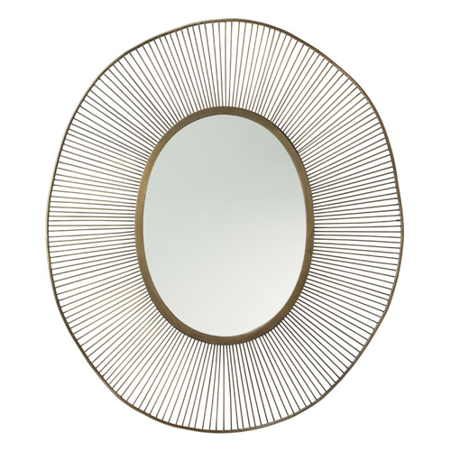 Pulp Home-Olympia Oval Mirror