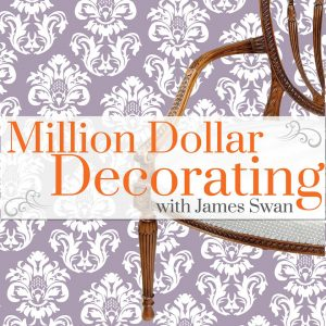 Million dollar decorating podcast logo