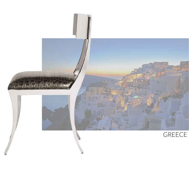 Greek Inspired Chair