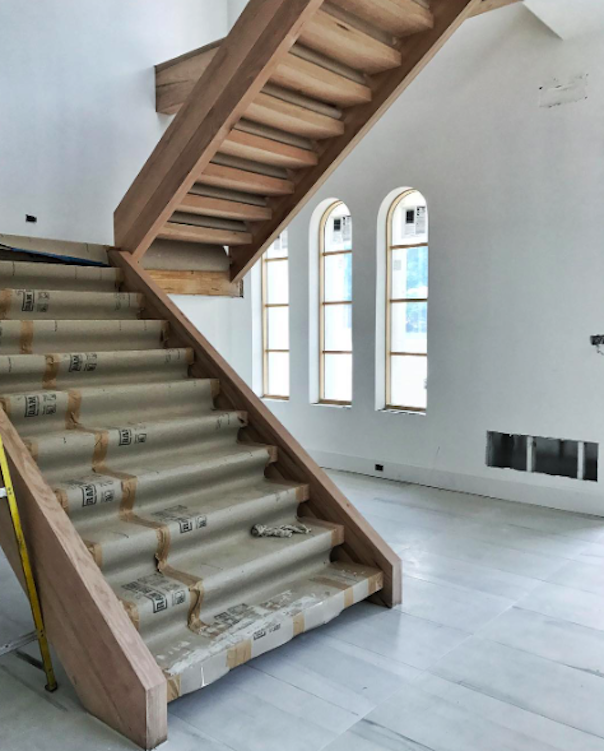 Pulp design studios install of traditional home showhouse