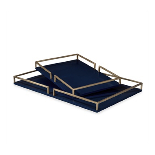 Pulp Home- Bianca Grand Tray- Navy