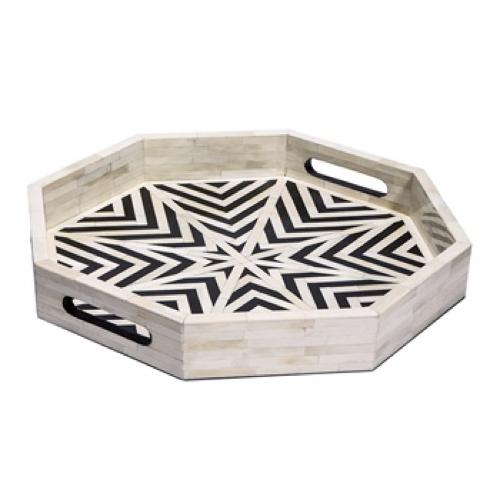 Pulp Home- Kiara Octagonal Tray