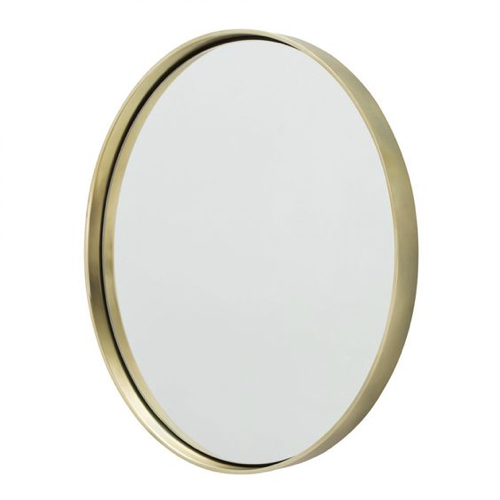 Pulp Home- Ollie Mirror- Polished Brass