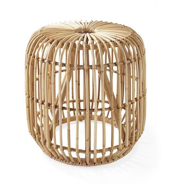 Rattan Side Table for Children