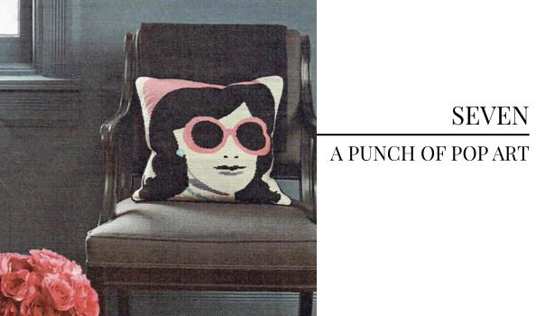 Pulp Design Studios Trend Pick - Pop Art Pillow from BHG
