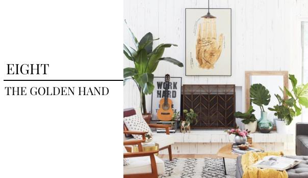 Pulp Design Studios Trend Pick - Golden Art from BHG