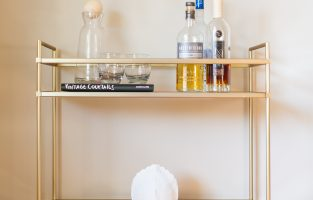 6 Must-Have Bar Carts + Our Favorite Fall Cocktail