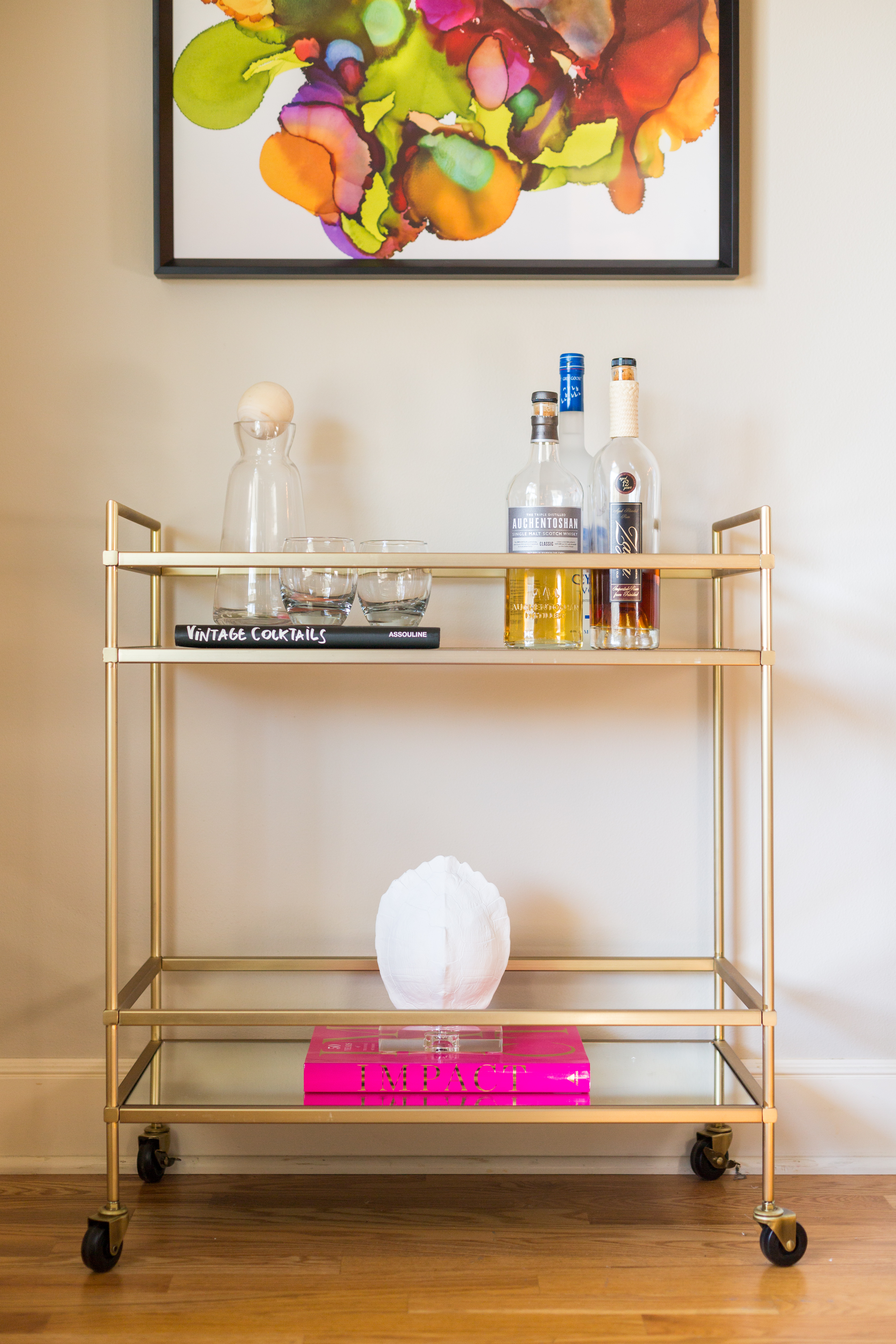 Pulp Design Studios Chic Bar Cart