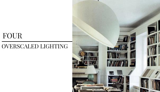interior design trends, lighting, light fixture, large light fixtures, oversized lighting, white light fixture