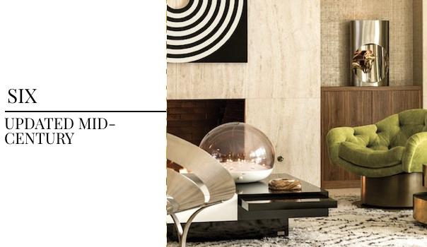 interior design trend, interior trend, mid-century, mid-century design, updated mid century, green side chair, modern interior