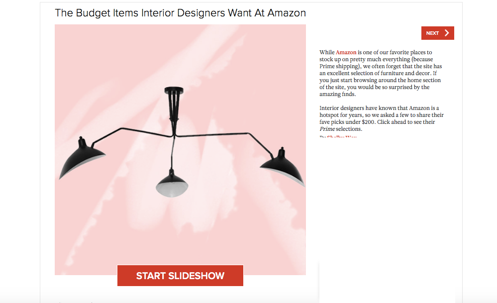 Lonny Magazine Budget Items Interior Designers Want at Amazon