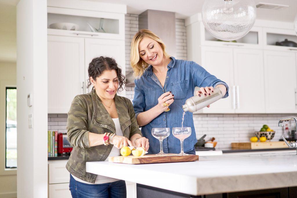 Entertaining experts, style experts, how to entertain, modern kitchen, designers who entertain