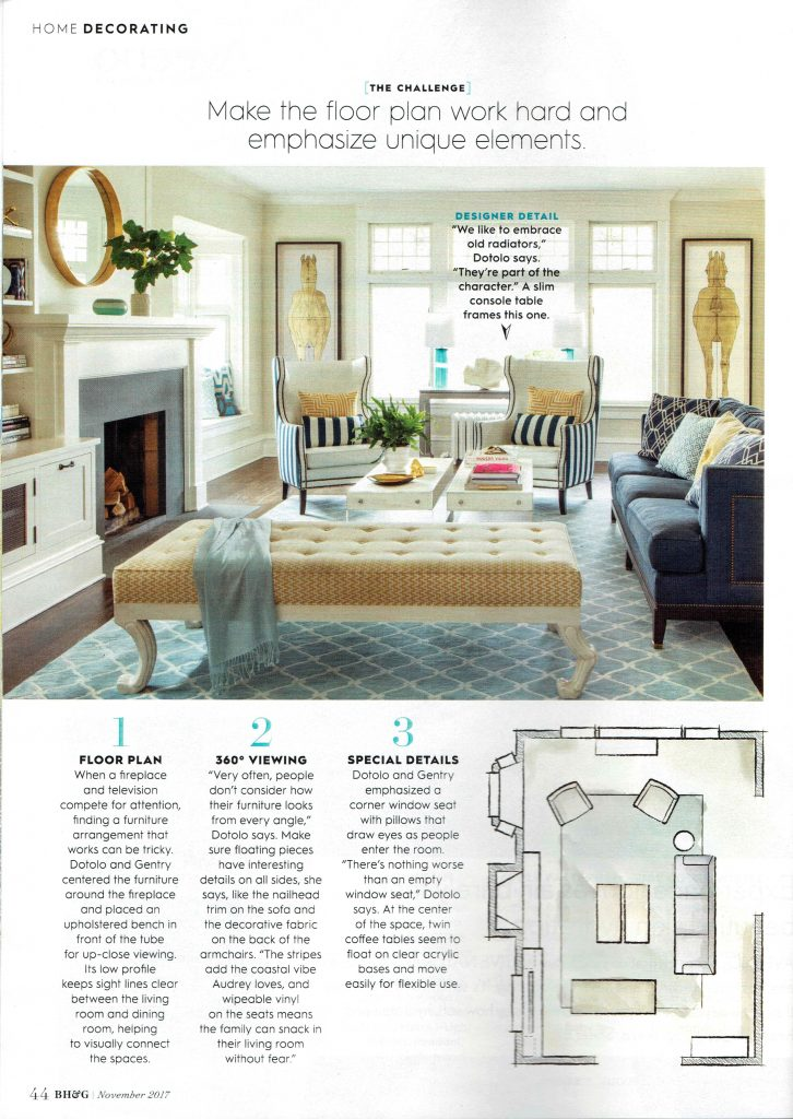 good looking better homes gardens. Pulp Design Studios Better Homes  Gardens November 2017 featuring a Coastal Living Room Up To The Challenge