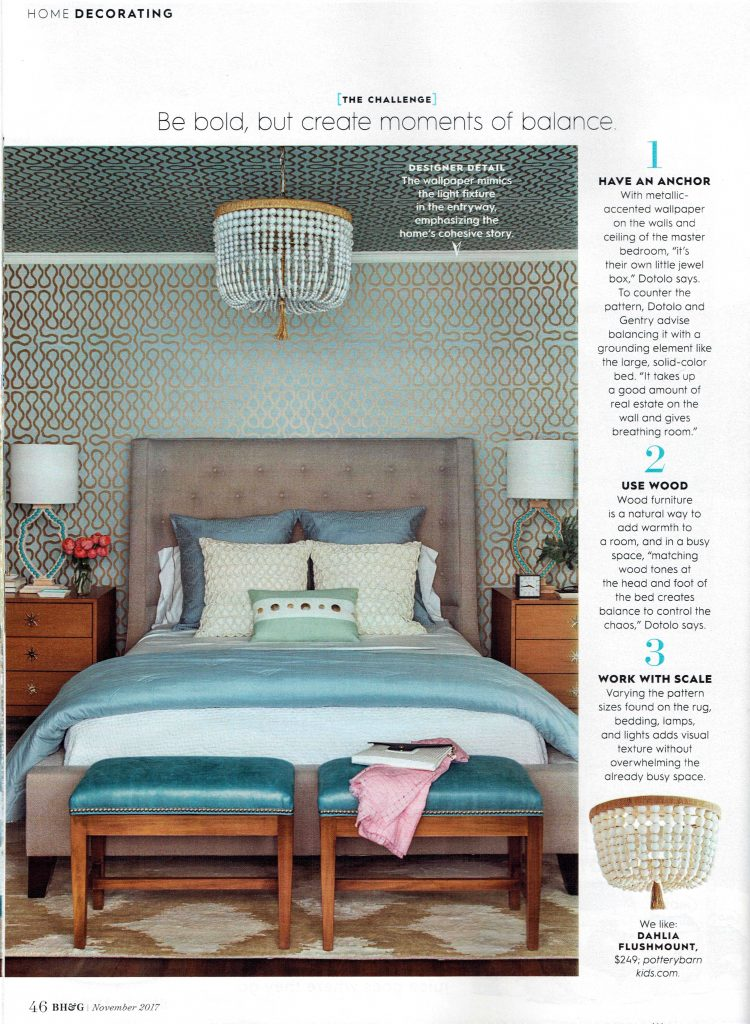 better homes and gardens lighting. Pulp Design Studios Better Homes \u0026 Gardens November 2017 Featuring A Jewel Box Master Bedroom, And Lighting