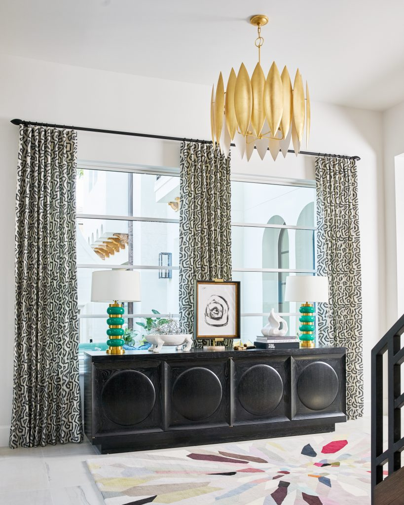 Pulp Design Studios Dallas Showhouse Credenza, how to style an entry, credenza, interior design tips