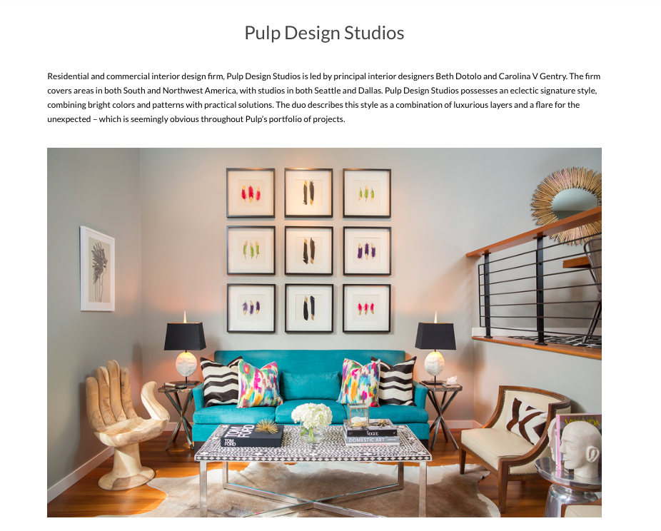 Top Interior Designers in Washington, Pacific Northwest