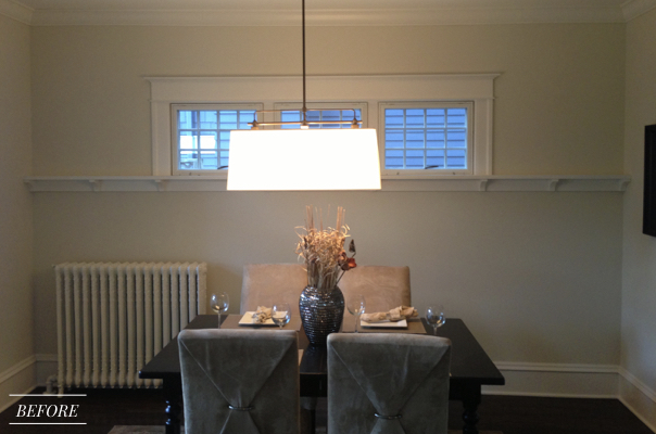 Before and After Transformation of a Fearless Family Home featured in Better Homes and Gardens, Dining Room
