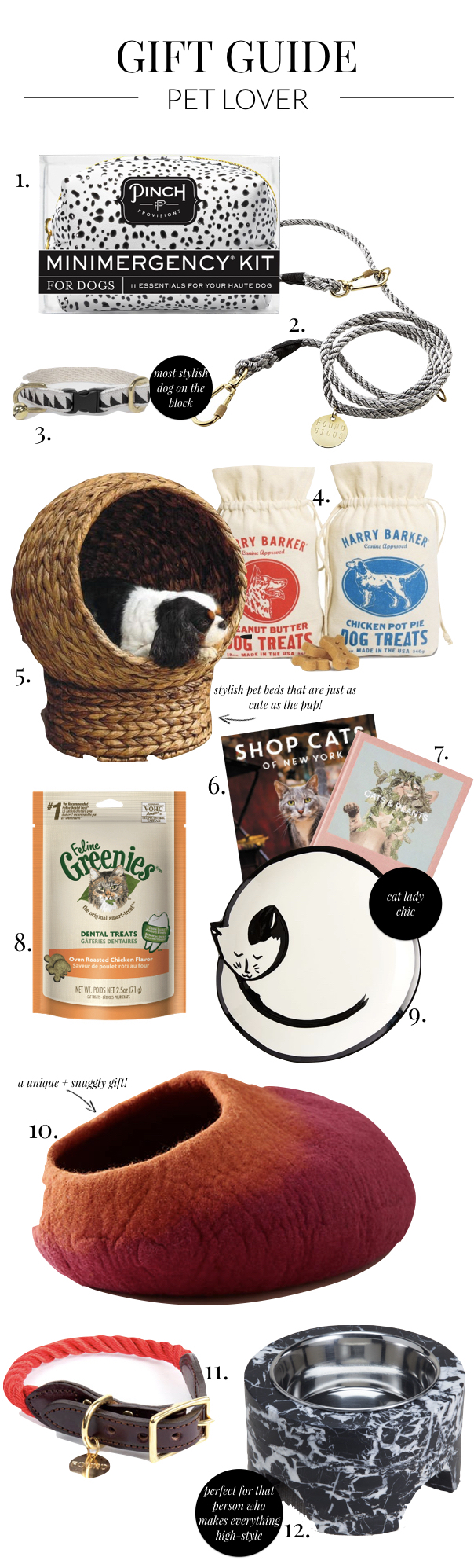 Holiday 2017 Gift Guides: Pet Lover