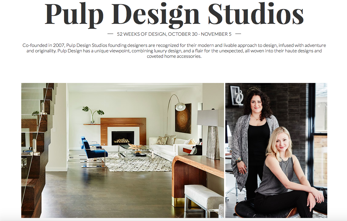 The Mine and Pulp Design Studios: 52 Weeks of Design