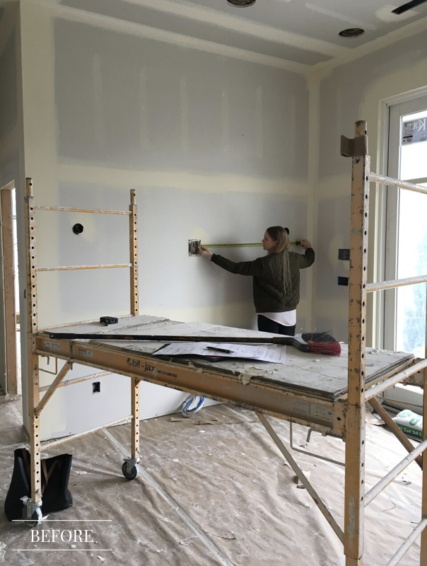 Interior Design Renovation In Progress - New Build