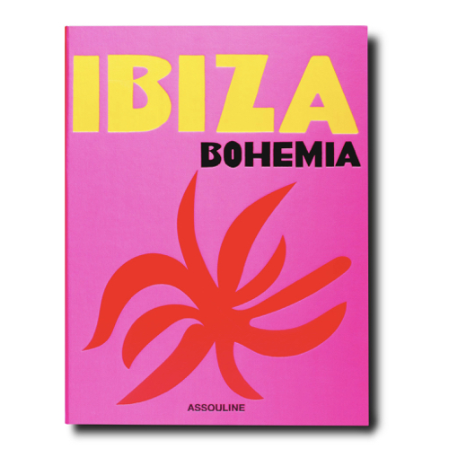 Pulp Home - Ibiza Bohemia Coffee Table Book - Vibrant Pink Travel Coffee Table Book