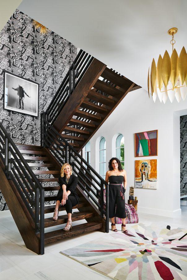 Pulp Design Studios Traditional Home Dallas Showhouse Entry Design