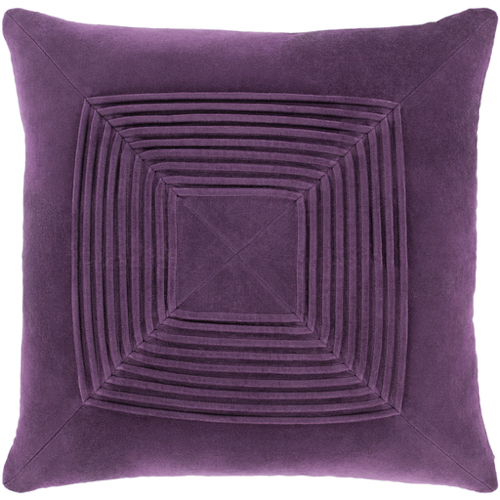Pantone Color of the Year 2018 18-3838 Ultra Violet Home Accessories and Decor, Purple Pillow with Down Insert