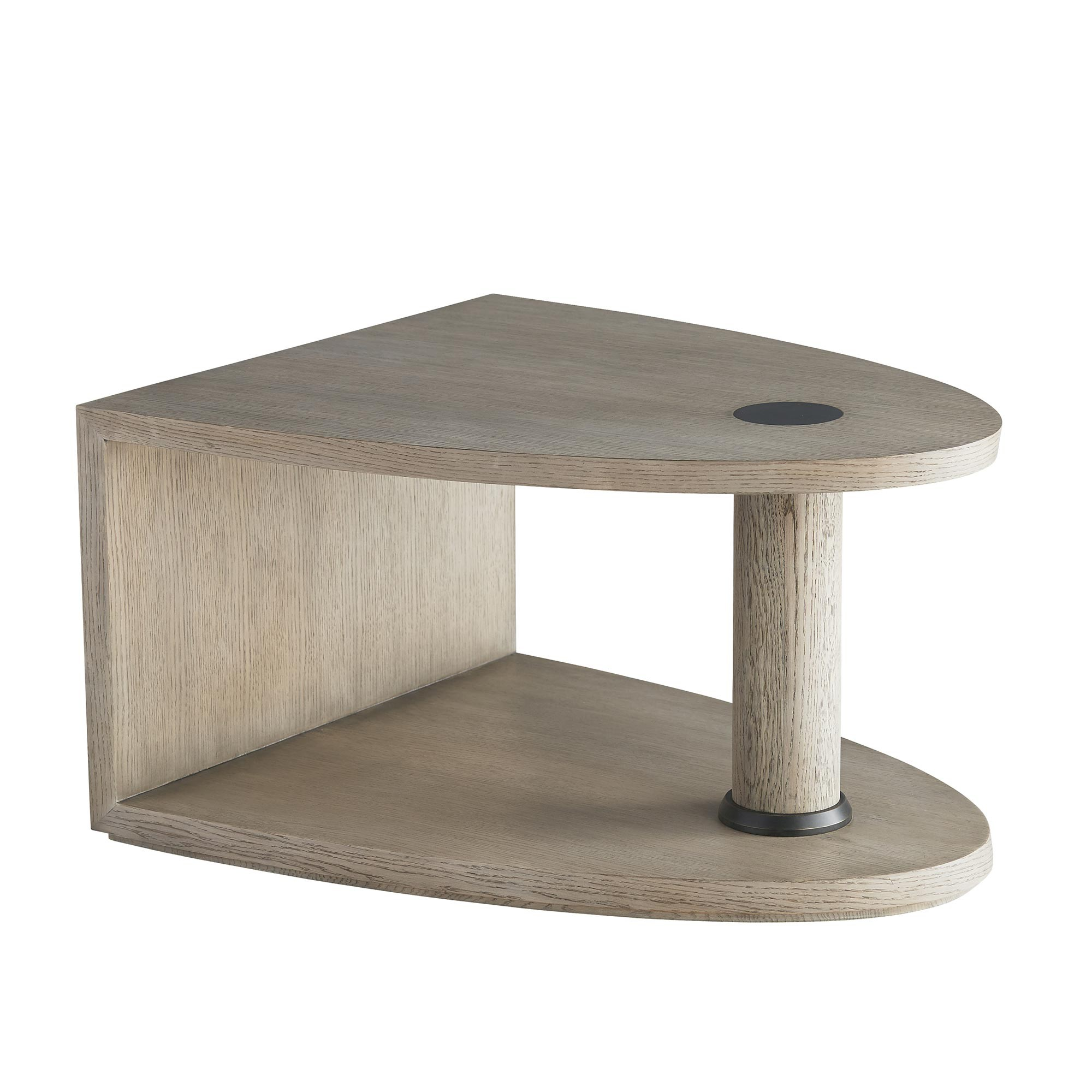 Pulp Home - Konnie Short Cocktail Table - Oblong Oval Small Coffee Table