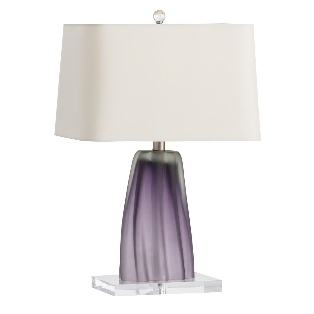 Pantone Color of the Year 2018 18-3838 Ultra Violet Home Accessories and Decor, Purple Acrylic Table Lamp