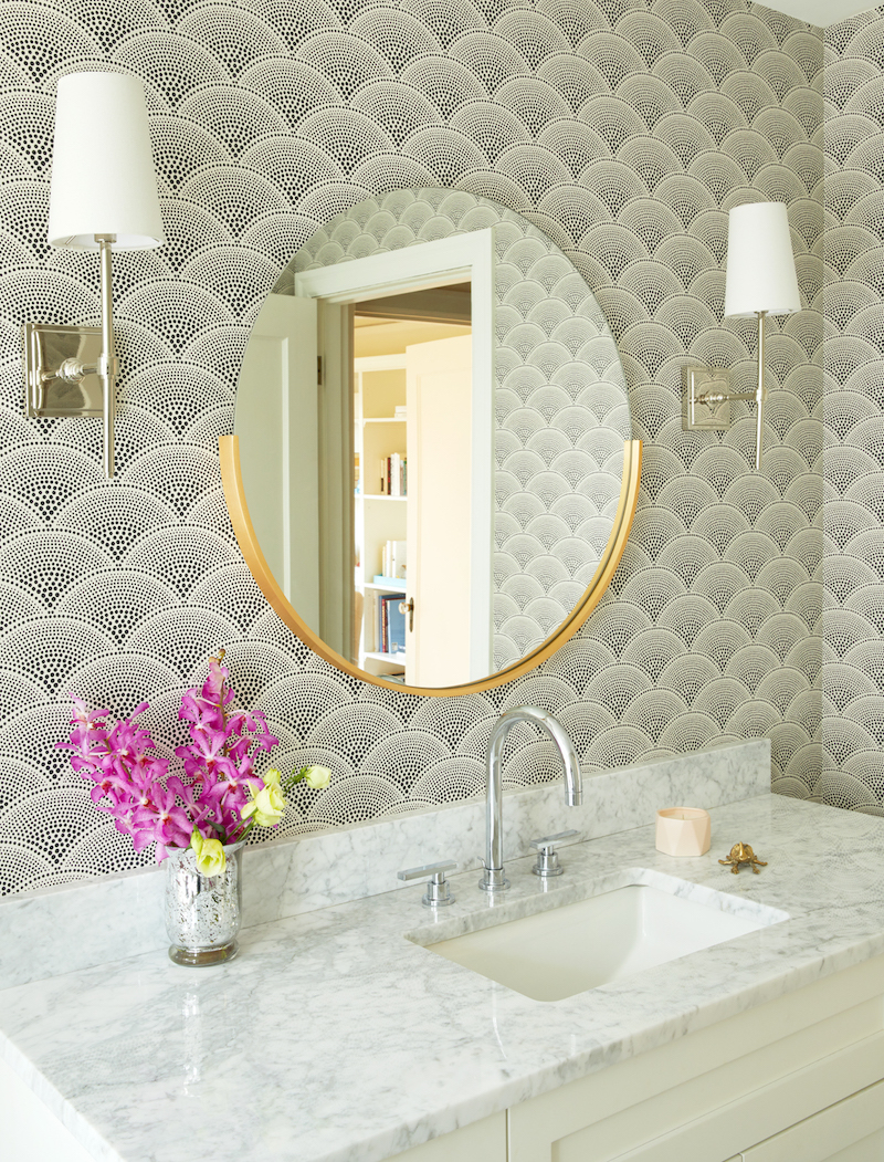Modern Art Deco Bathroom Pulp Design Studios