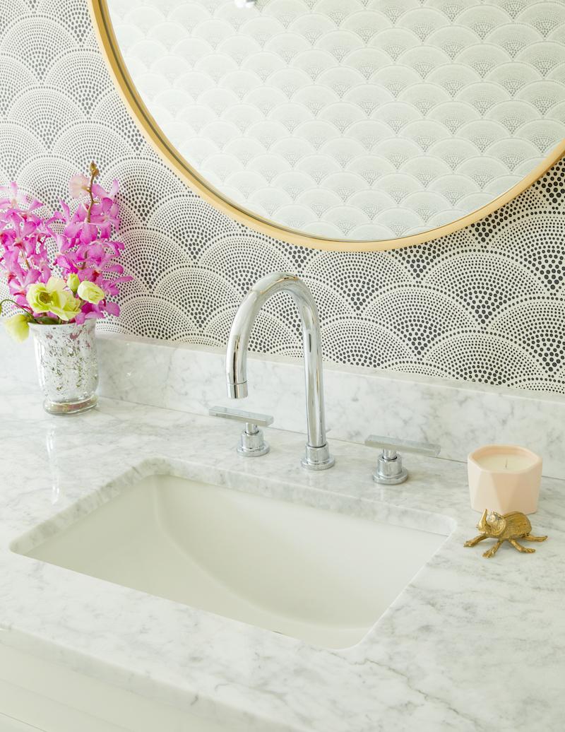 Modern Art Deco Bathroom | Pulp Design Studios
