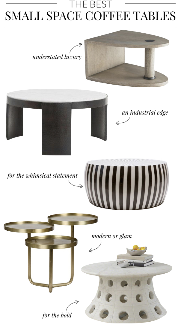 The 5 Best Small Space Coffee Tables