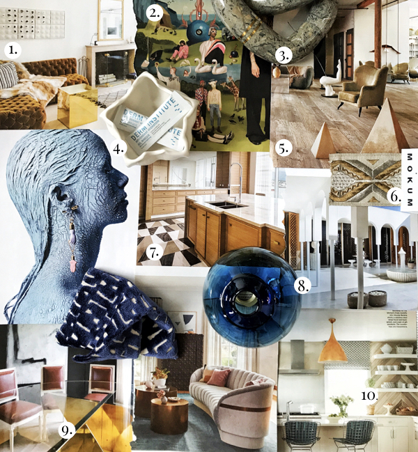 Top Interior Design Trends in 2018, Unexpected Details in Interior Design, Minimalist Interior Design Trends, Surrealist Inspired Interior Design, Blue Neutral Textiles, Burnout Velvet Textiles for Interiors, Self Care Trends, Travel Packet Face Masks