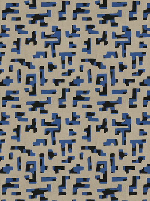 Hidalgo Fabric Royal Pulp Design Studios