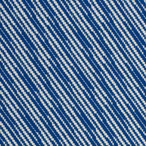 Navigli - Royal - Pulp Design Studios for S Harris textiles. This plush woven twill was inspired by the diagonal canal that runs through trendy and historical district of Navigli in Milan. Navigli is a modern royal blue and white version of classic men's suiting and tweed, bringing timeless style in both high contrast and tonal colorways.