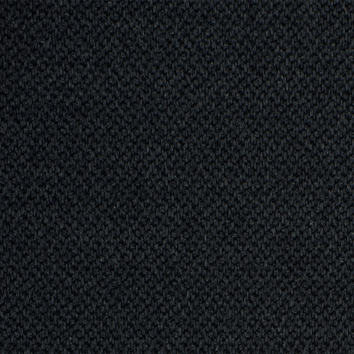 Zaccai - Grey navy - Pulp Design Studios for S Harris textiles. This performance upholstery textile is a chunky novelty weave in a dark subdued navy with grey tones.