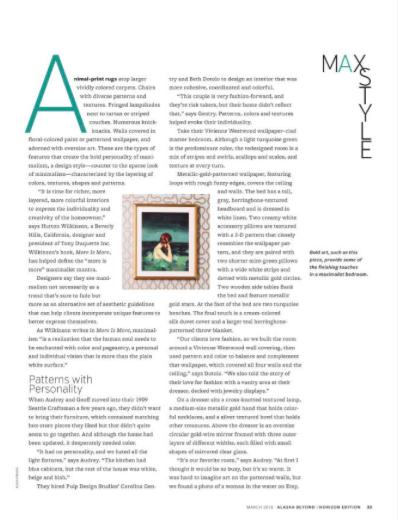 Alaska Beyond Magazine, Maximalist Style, Maximalism, Maximalist Home