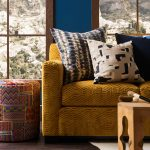 Pulp S Harris – Lounge – Sectional in Underground Amber Gold