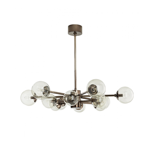 Karrington Chandelier, brown nickel Karrington Chandelier, brown nickel Chandelier, brown nickel chandelier