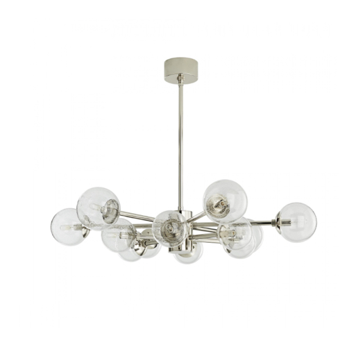 Karrington Chandelier, polished nickel Karrington Chandelier, polished nickel Chandelier, polished chandelier