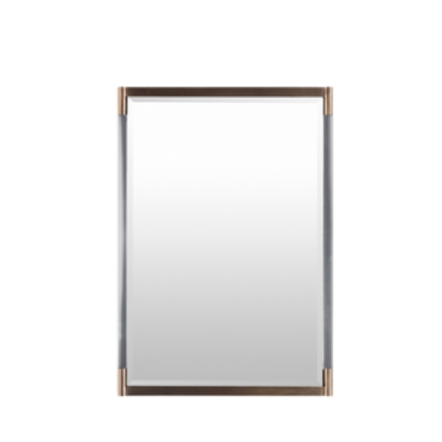 Kyle mirror brass, Kyle mirror, beveled mirror