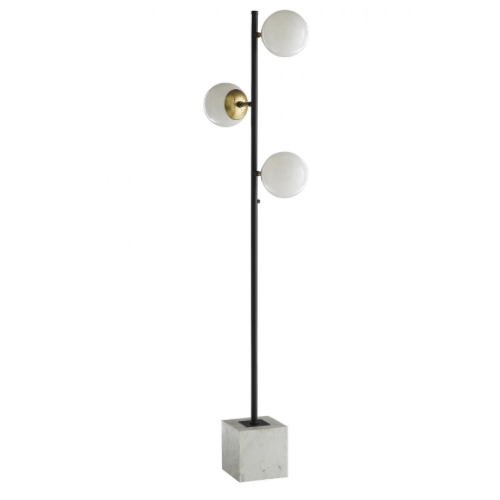 Leeland Floor Lamp, Leeland Lamp, Floor Lamp, bronze Floor Lamp, marble Floor Lamp, lighting, floor lighting