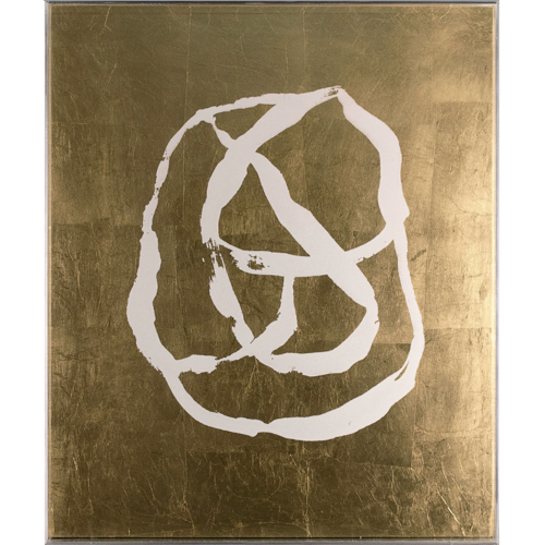 Neo Collection 2, gold painting, gold abstract painting