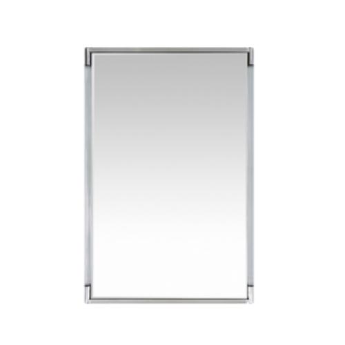 Kyle mirror silver, Kyle mirror, beveled mirror