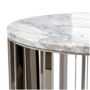 Pulp Home – Greer Side Table – Carrara White – b