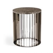 Pulp Home – Greer Side Table – Italian Grey – a