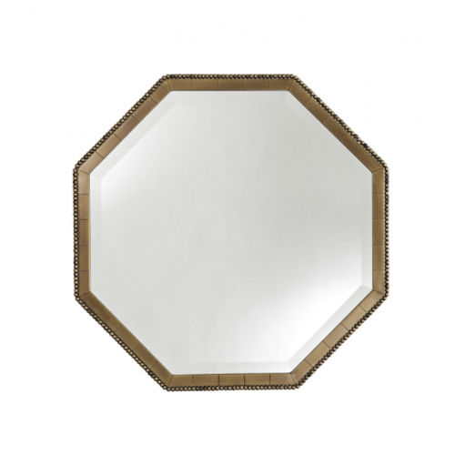 Pulp Home – Nicole Mirror – Antique Brass-01